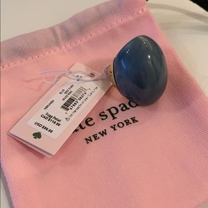 Kate Spade Blue Mood Ring, Size 8! BRAND NEW!